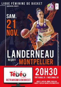 LBB contre Montpellier LFB