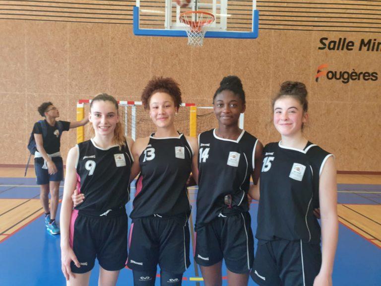 4 Landernéennes en phase finale avec l'équipe de Bretagne U15