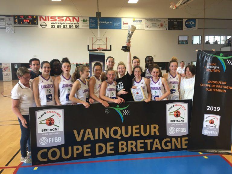 LBB U18F1 championnes de bretagne