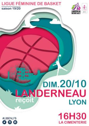 Le LBB reçoit le LDLC ASVEL à la Cimenterie
