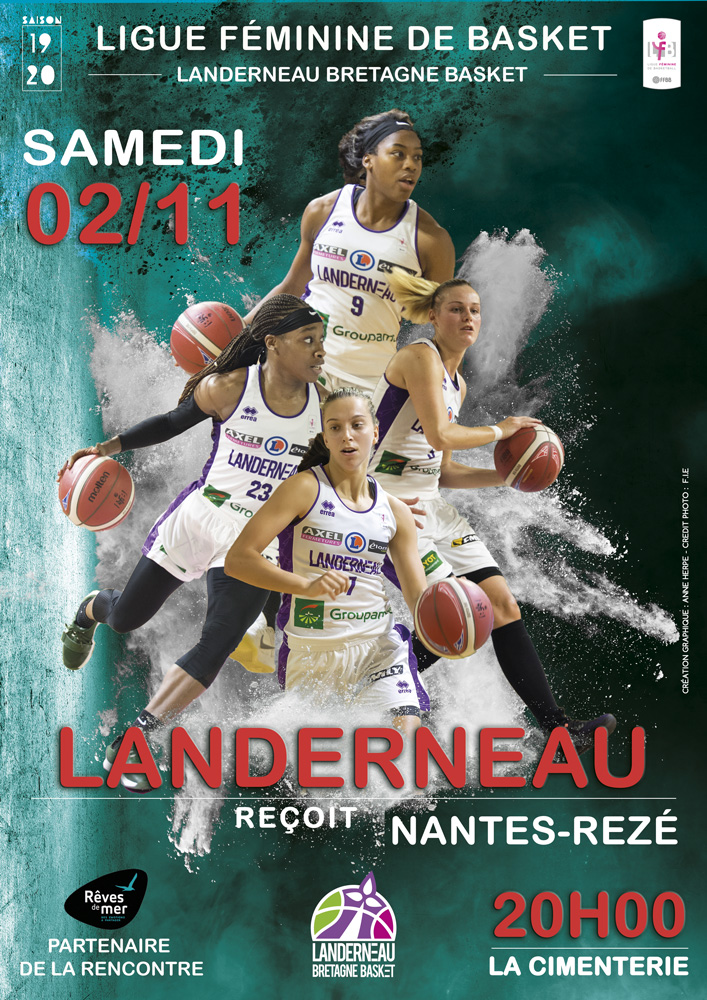 match LBB contre Nantes Rezé