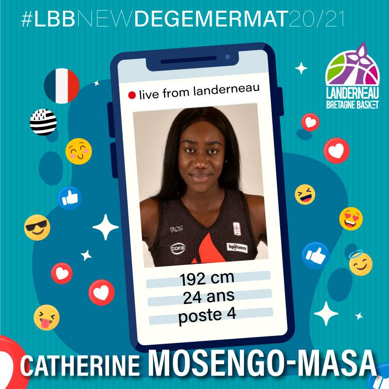 catherine MOSENGO-MASA joueuse LBB