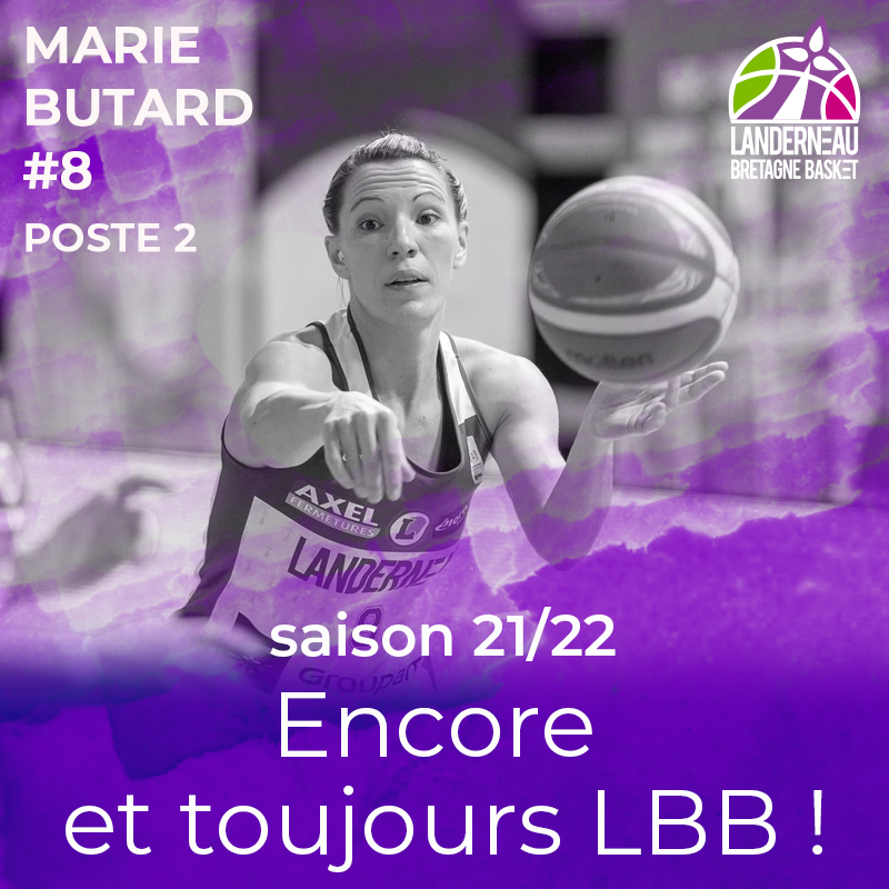 Marie Butard reste au LBB