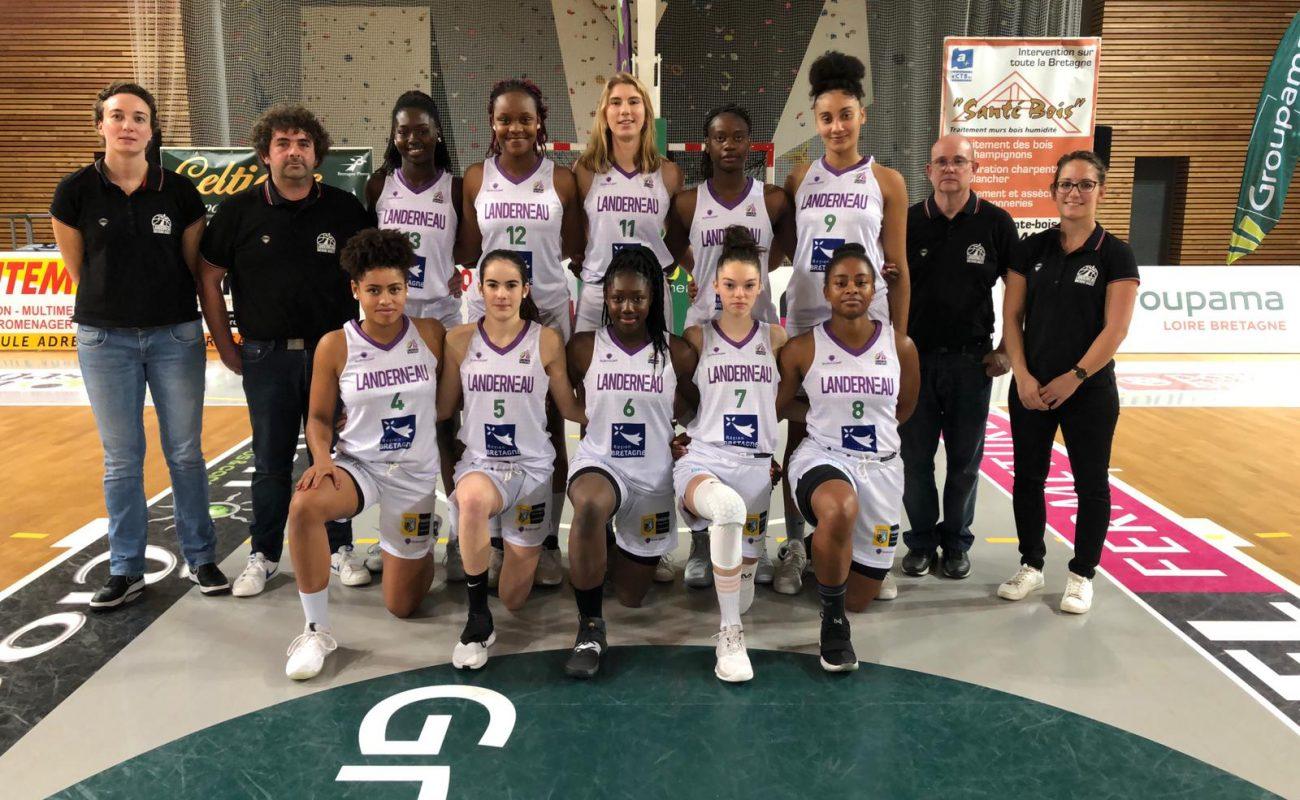 LBB equipe NF2 basket