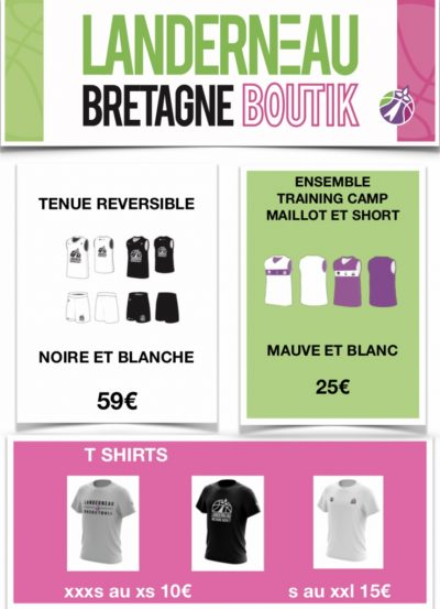 boutique LBB, maillots, shorts